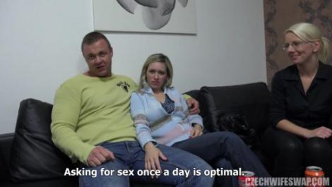 Czech Wife Swap 7 Part 1